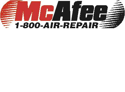 McAfee Heating & Air Logo