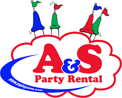 A&S Party Rental Logo