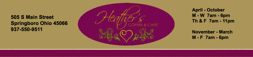 Heather's Coffee & Cafe Logo