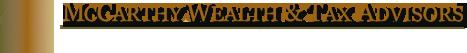 McCarthy Wealth &  Tax Advisors Logo