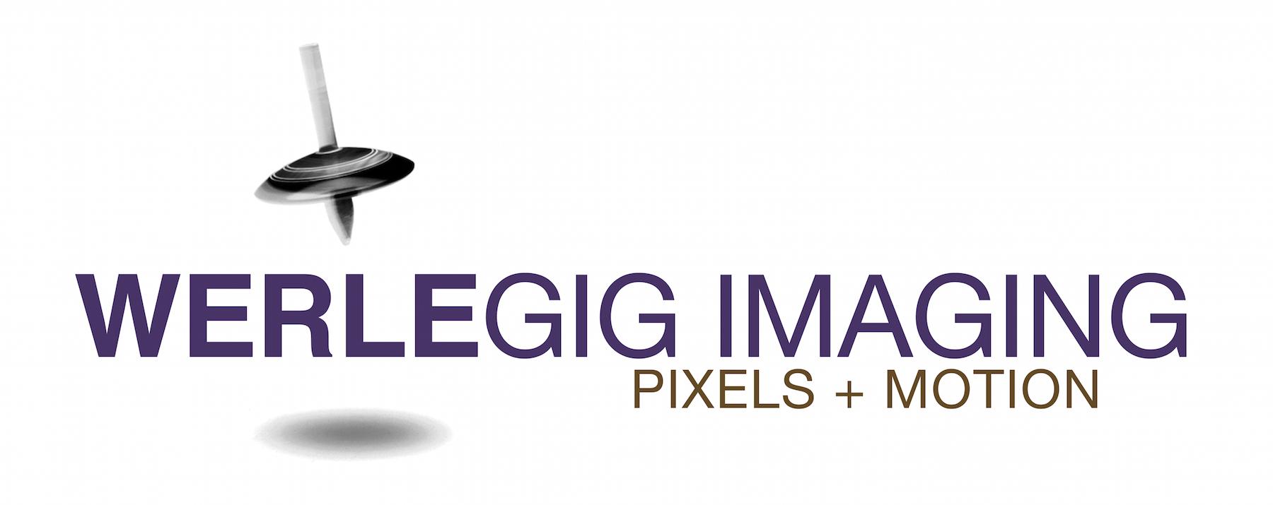Werlegig Imaging Pixels & Motion Logo