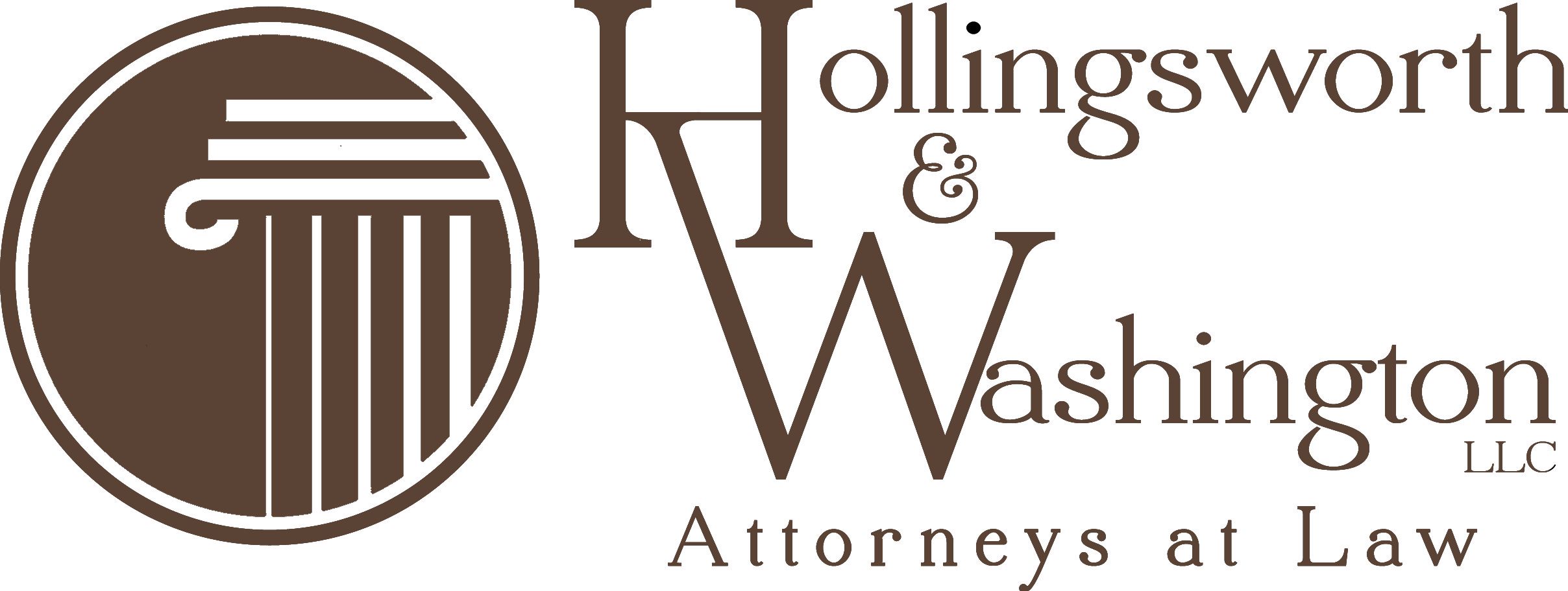 Hollingsworth & Washington Attorneys at Law Logo