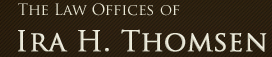 The Law Offices of Ira H. Thomsen Logo