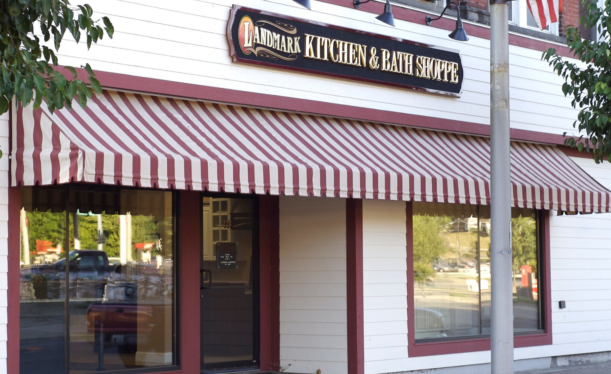 Landmark Kitchen & Bath Shoppe Logo