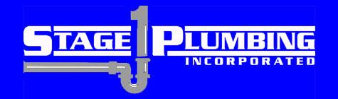 Stage 1 Plumbing, Inc. Logo